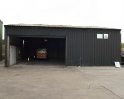 38 ft x 40 ft x 13 ft used steel building