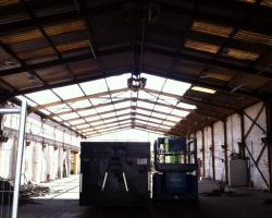 180 x 50 x 16 used steel building