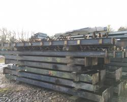 200 ft x 75 ft x 16 ft used steel building