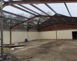 65 ft x 40 ft x 12 ft - (20m x 12.2m x 3.7m) Used Steel Building