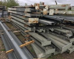 154 ft x 52 ft x 15 ft Used Steel Building For Sale