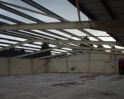 80 ft x 68 ft x 11 ft used steel building