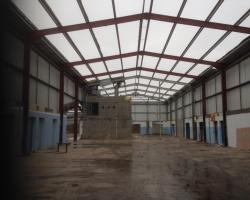 188ft x 48 ft x 26 ft Used Steel Building