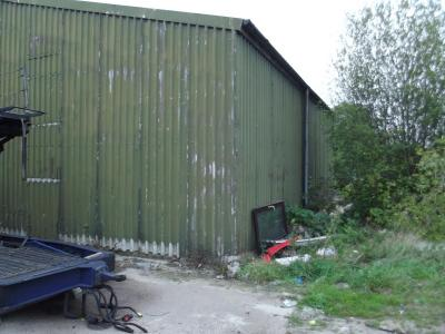 50 ft x 30 ft x 17 ft used steel building