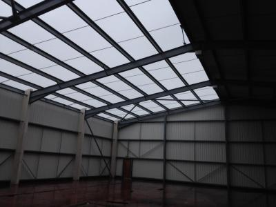 83 ft x 80 ft x 21 ft used steel building