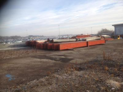 320 ft x 65 ft x 26 ft - Used Steel Frame