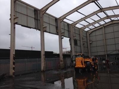 120 ft x 56 ft x 39 ft Used Steel Building