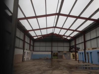 188ft x 48ft x 26ft Used Steel Building