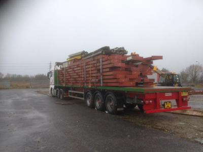 260 ft x 195 ft x 26 ft - Used Steel Frame