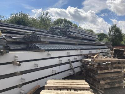 200 ft x 125 ft x 30 ft Used Steel Building for sale