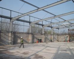Used Steel Building 130 ft x 93 ft x 20 ft