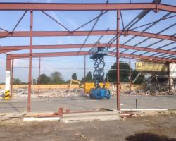 80ft x 80 ft x 24 ft used steel building