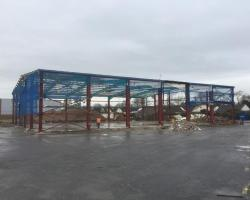 120 ft x 100 ft x 25 ft - (36.6m x 30.5m x 7.7m) Used Building for sale