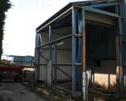 22 ft x 14 ft x 18 ft Used Steel Building