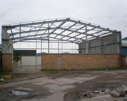 Used 60 ft x 60 ft x 20 ft steel building