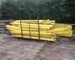 100 ft x 13 ft x 14 ft Used Steel Building