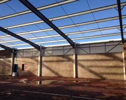 120 ft x 80 ft x 18 ft Used Steel Building